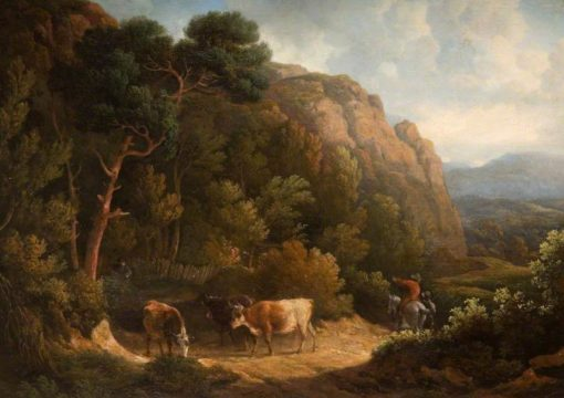 Landscape with Cows | Philip Reinagle | Oil Painting
