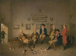 Members of the Carrow Abbey Hunt | Philip Reinagle | Oil Painting