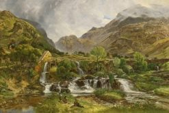 A Mill Stream in Wales | Charles Tattershall Dodd | Oil Painting