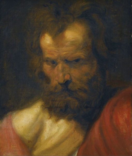 Study of a Bearded Man | Anthony van Dyck | Oil Painting