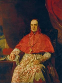 Portrait of Cardinal Thomas Weld | Andrew Geddes | Oil Painting