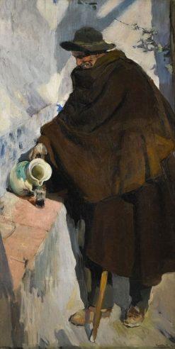 The Old Man of Castille | Joaquin Sorolla y Bastida | Oil Painting