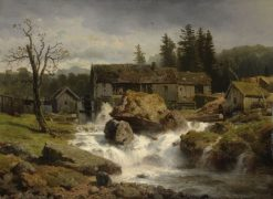 The Mill | Andreas Achenbach | Oil Painting