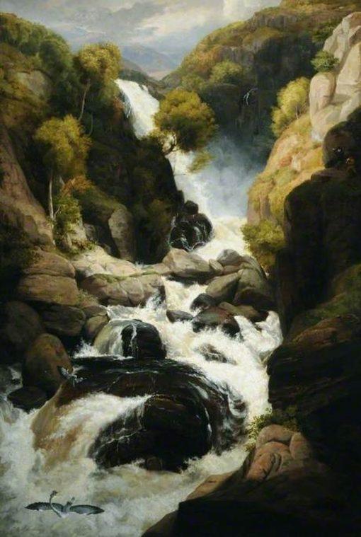 The Heron Shoot   Philip Reinagle   Oil Painting