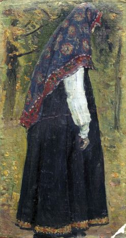 The Novice | Mikhail Vasilevich Nesterov | Oil Painting