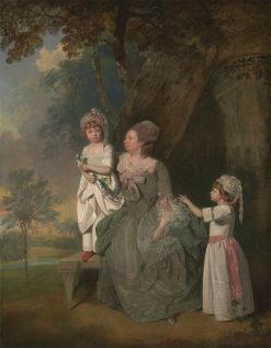 Mrs. Barclay and Her Children | Francis Wheatley | Oil Painting