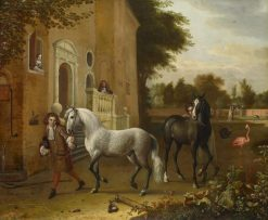 Grooms with Horses