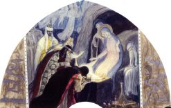 The Adoration of the Kings | Mikhail Vasilevich Nesterov | Oil Painting