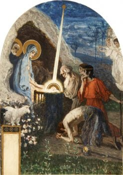 The Nativity | Mikhail Vasilevich Nesterov | Oil Painting