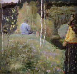 Spring | Mikhail Vasilevich Nesterov | Oil Painting