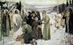 Holy Russia | Mikhail Vasilevich Nesterov | Oil Painting