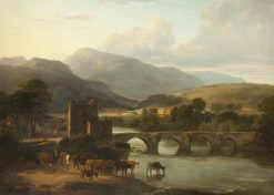 Landscape   Ramsay Richard Reinagle   Oil Painting