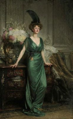 Mrs. Ernest Guiness | Sir Francis Bernard | Oil Painting