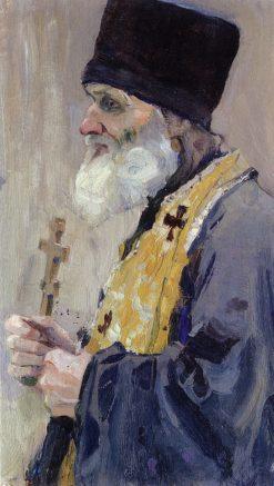 A Priest | Mikhail Vasilevich Nesterov | Oil Painting