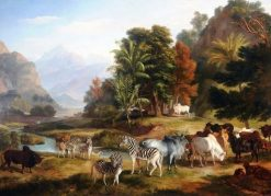 Landscape with Animals | Ramsay Richard Reinagle | Oil Painting