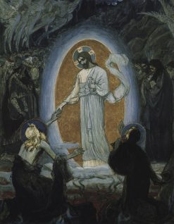 The Descension to Hell | Mikhail Vasilevich Nesterov | Oil Painting