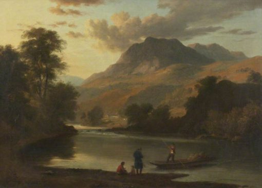 Loughrigg and the River Brathay | Ramsay Richard Reinagle | Oil Painting