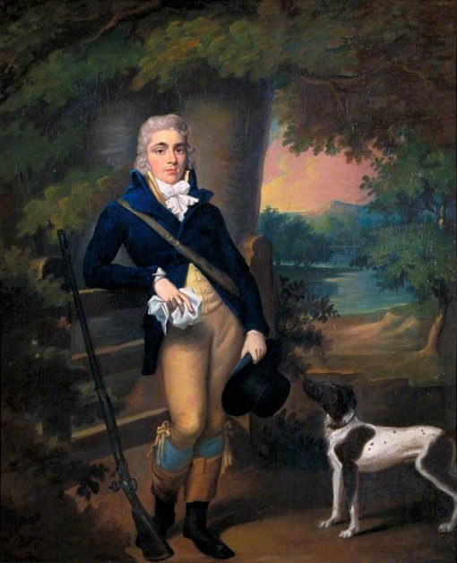 Man with a Dog | Ramsay Richard Reinagle | Oil Painting