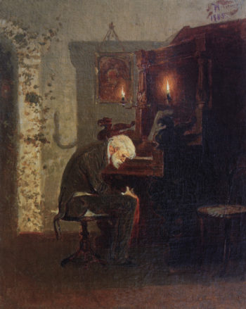 Tapeur | Mikhail Vasilevich Nesterov | Oil Painting