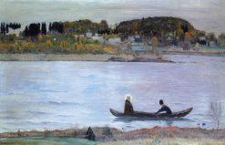 Still Waters | Mikhail Vasilevich Nesterov | Oil Painting