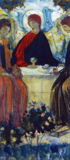 Trinity | Mikhail Vasilevich Nesterov | Oil Painting