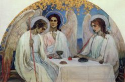 Trinity   Mikhail Vasilevich Nesterov   Oil Painting