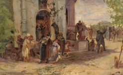 Trinity Day | Mikhail Vasilevich Nesterov | Oil Painting
