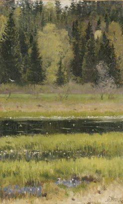 The Urals Landscape | Mikhail Vasilevich Nesterov | Oil Painting