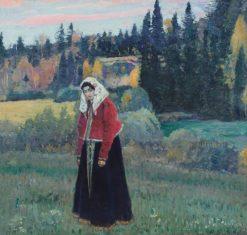 Flenushka | Mikhail Vasilevich Nesterov | Oil Painting