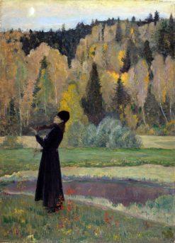 The Blind Musician | Mikhail Vasilevich Nesterov | Oil Painting