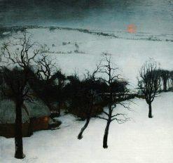 Winter In Flanders | Valerius de Saedeleer | Oil Painting