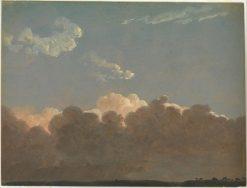 Sunset in Rome | Simon Denis | Oil Painting