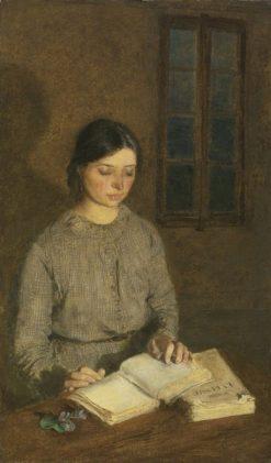 Dorelia by Lamplight | Gwen John | Oil Painting