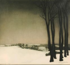 Village sous la neige | Valerius de Saedeleer | Oil Painting