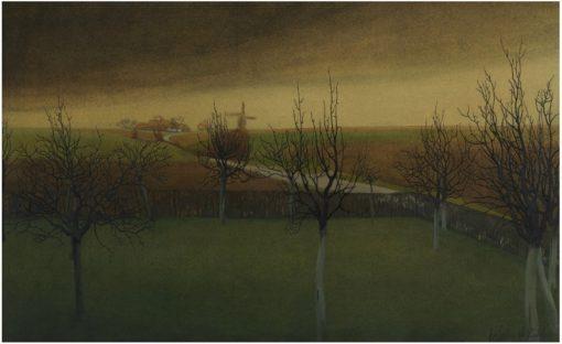 Before Spring   Valerius de Saedeleer   Oil Painting
