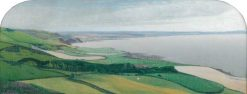 Coastal Landscape near Aberystwyth | Valerius de Saedeleer | Oil Painting