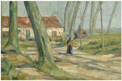 Landscape in Lisseweghe | Valerius de Saedeleer | Oil Painting