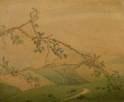 Landscape with Apple Tree | Valerius de Saedeleer | Oil Painting