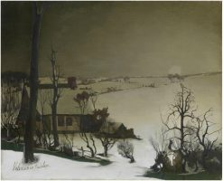 Winter Landscape | Valerius de Saedeleer | Oil Painting