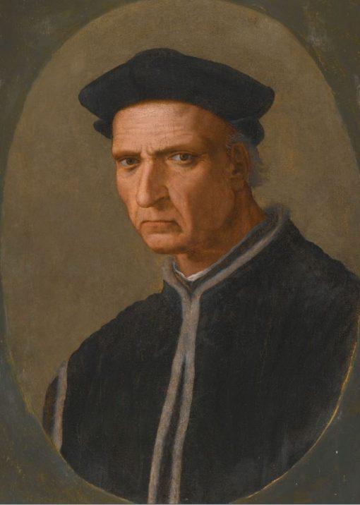 Portrait of Piero Soderini   Ridolfo Ghirlandaio   Oil Painting
