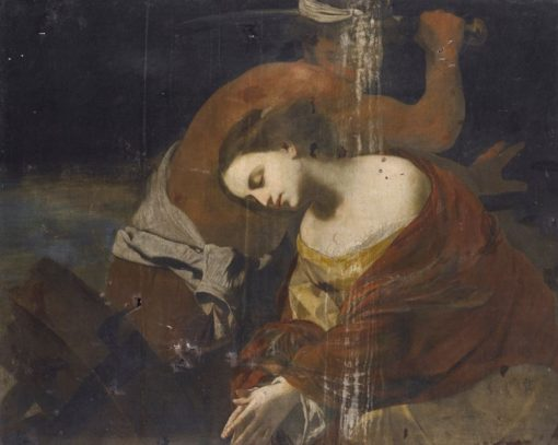 The Martyrdom of St. Catherine | Massimo Stanzione | Oil Painting