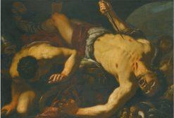 The Death of Ajax | Antonio Zanchi | Oil Painting