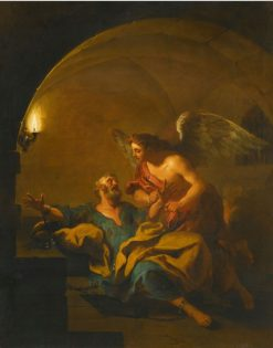 The Liberation of St. Peter | Jean-Francois de Troy | Oil Painting