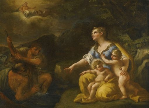Latona and the Lycian Peasants | Paolo de Matteis | Oil Painting