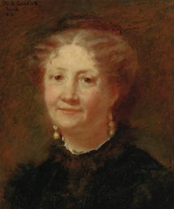 Portrait of Madame Cortier | Mary Cassatt | Oil Painting
