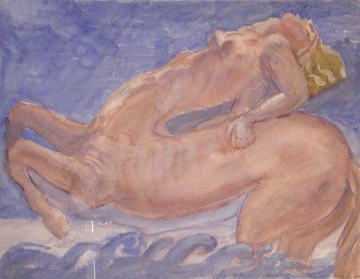 The Lament of the Centauress | Emile-Antoine Bourdelle | Oil Painting
