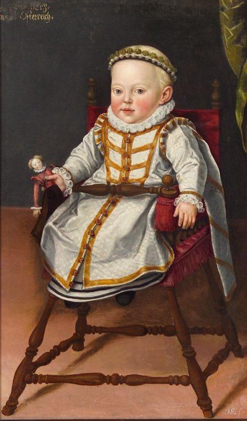Erzherzogin Katharina Renea | Jan Vermeyen | Oil Painting