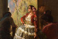 Spanish Dancer | Pierre Francois Eugène Giraud | Oil Painting