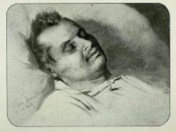 A postmortem portrait of Balzac | Pierre Francois Eugène Giraud | Oil Painting