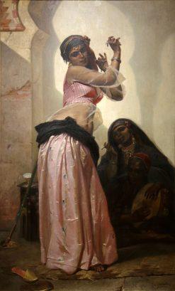 Danseuse au Caire | Pierre Francois Eugène Giraud | Oil Painting